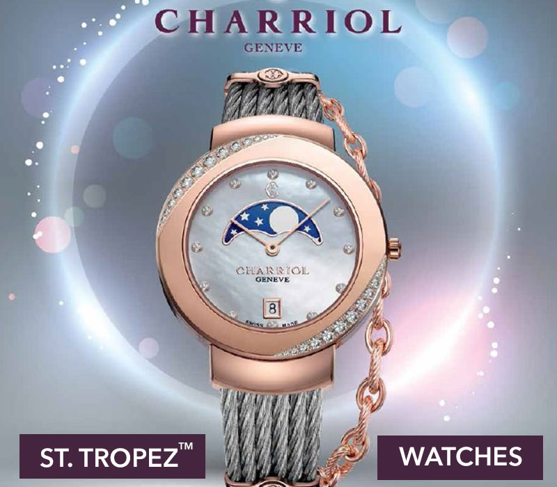 CHARRIOL WATCHES: ST-TROPEZ