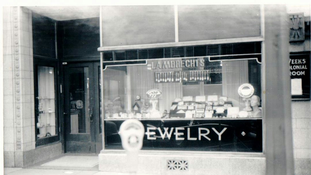 Circa 1950s Front of Current Location