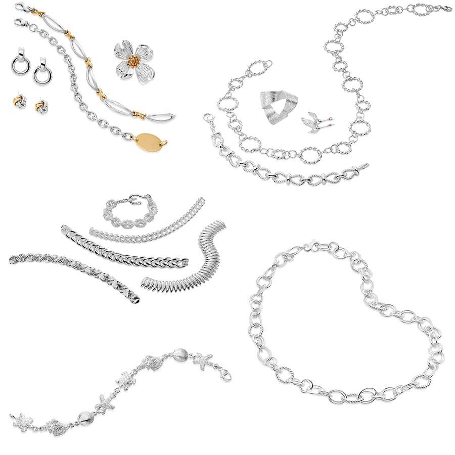 Custom Karats Silver Jewelry