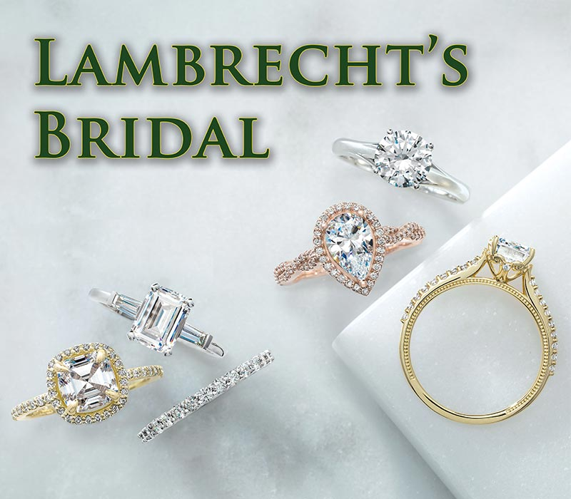 Lambrecht's Jewelers' Bridal collection