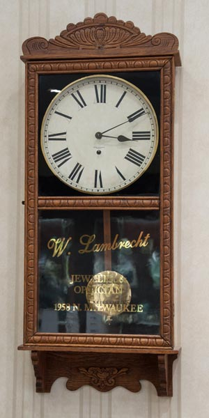 Lambrecht's Jewelers' regulator clock