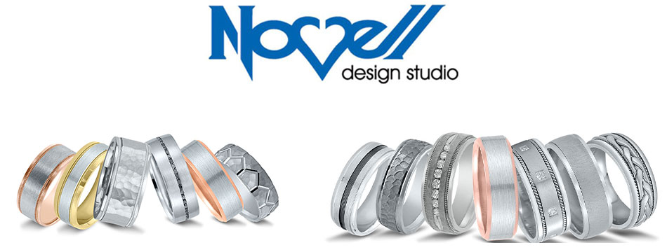 Novell Design Studio wedding rings