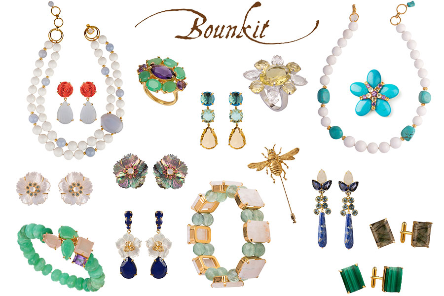 Bounkit Jewelry collage