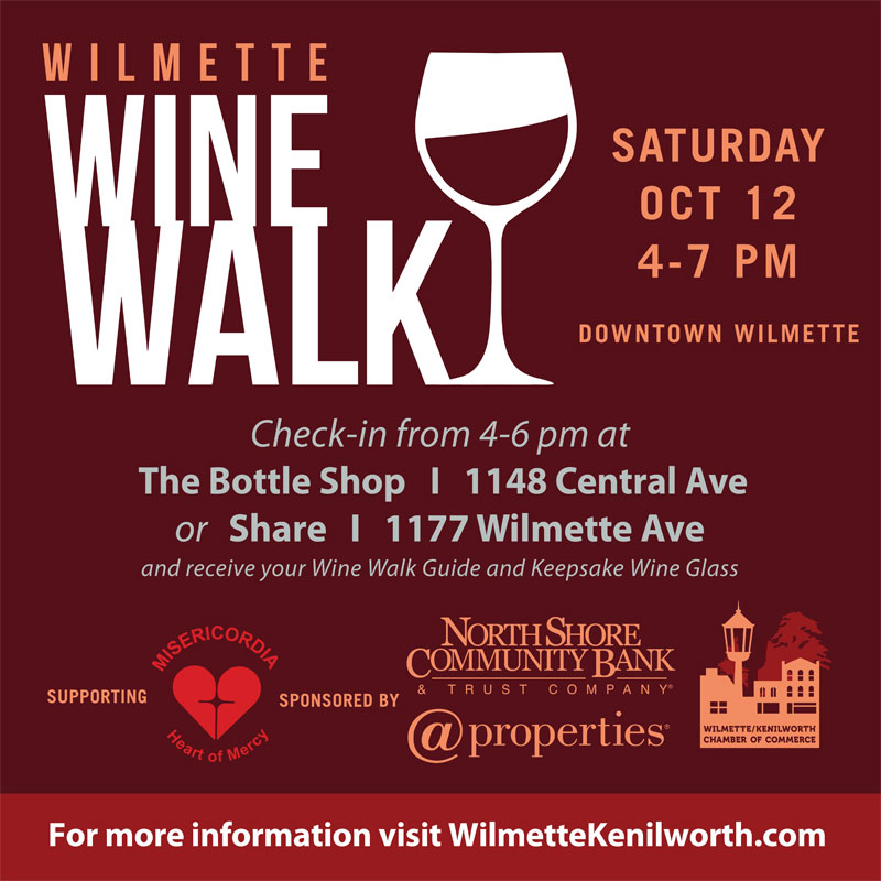 Wilmette Wien Walk Event poster