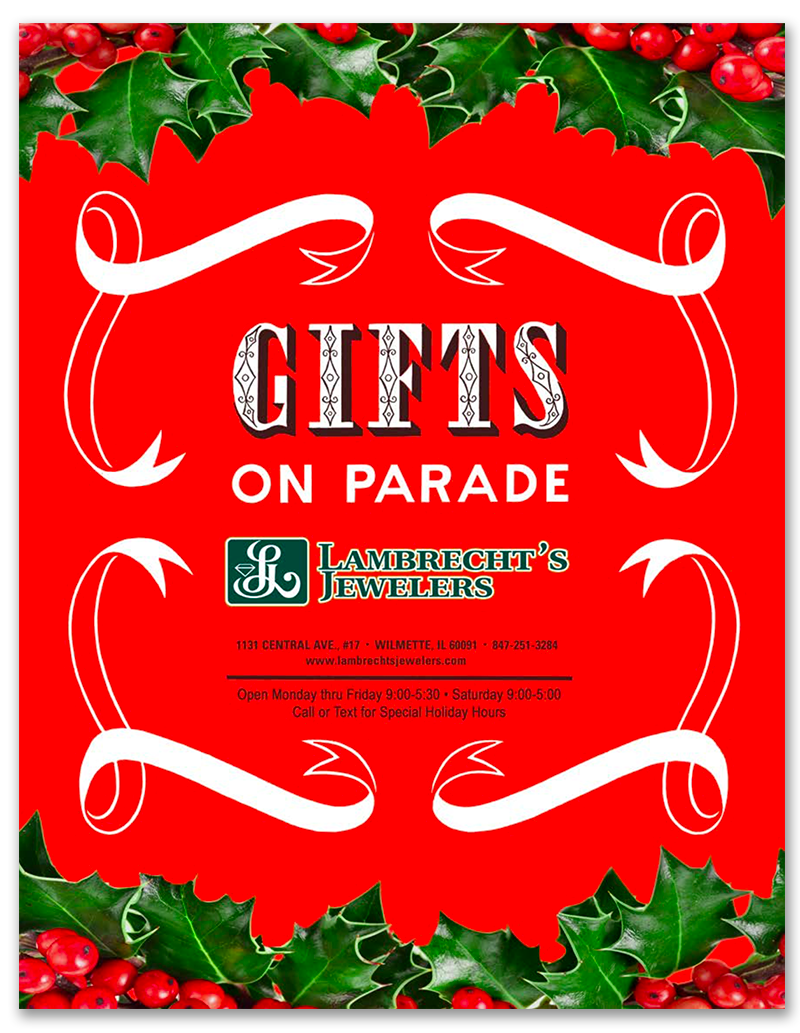 LAMBRECHT JEWELERS' GIFTS ON PARADE CATALOG